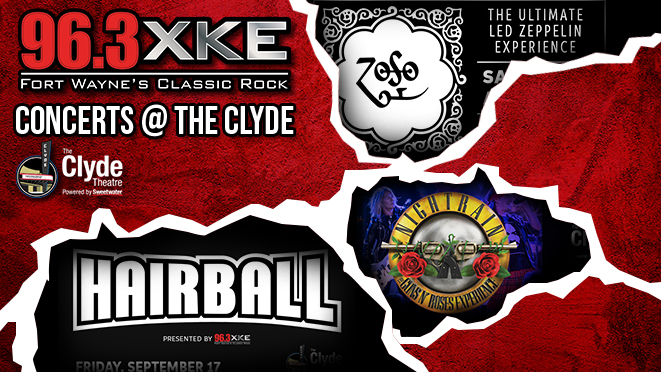 963XKE Concerts @ The Clyde
