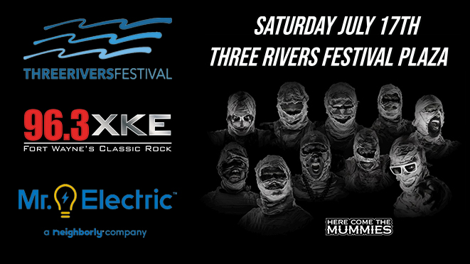 Here Come The Mummies | July 17th
