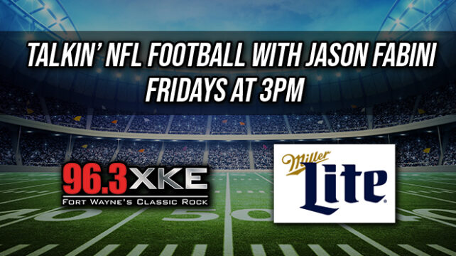 Fridays at 3pm with former NFL lineman Jason Fabini