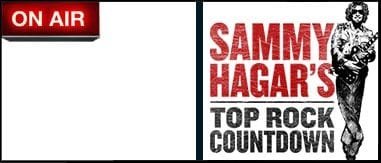 Sammy Hagar's Top Rock Countdown 6p-8p
