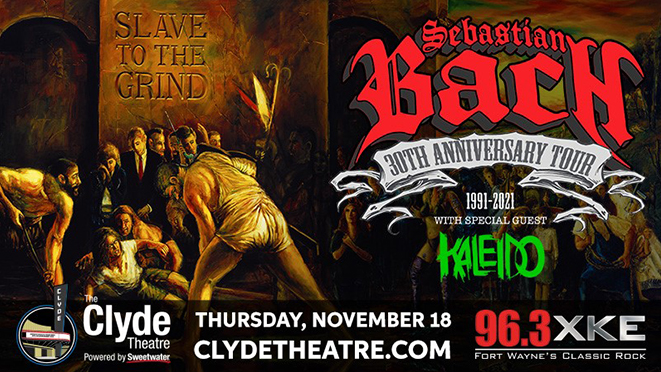 Sebastian Bach at The Clyde Theatre